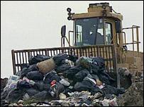 Landfillmachine