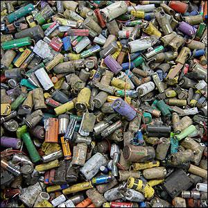 Wastebatteries