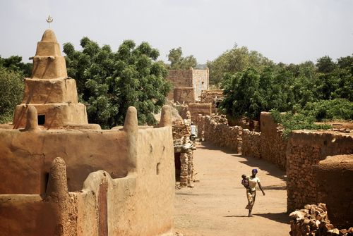 Mali village by CJ Clark