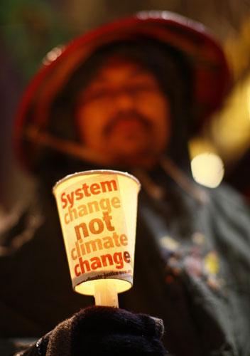 Activist in Copenhagen