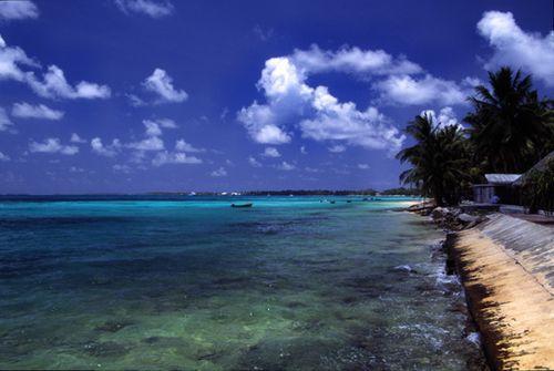 TuvaluFunafutiAtollBbeach