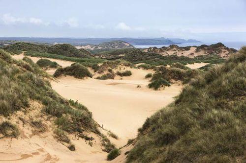 Menie dunes