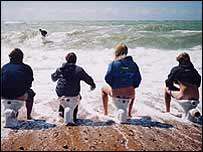 Surfers against Sewage protest