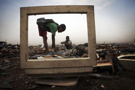 Waste in ghana