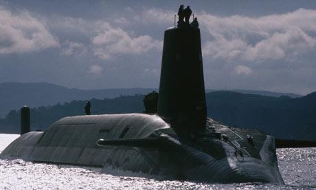 Trident nuclear sub