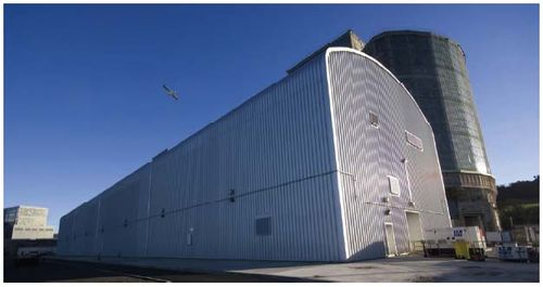 Hunterston's waste shed