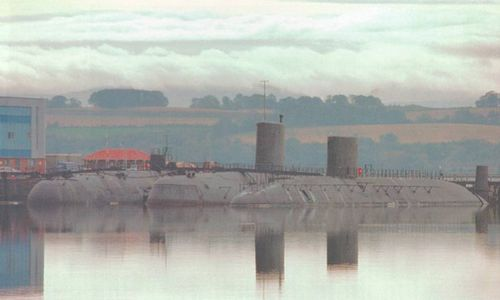 Rosyth submarines