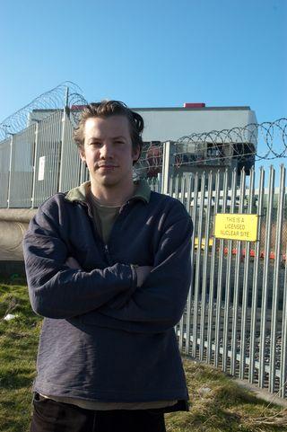 Rory Walker at Heysham