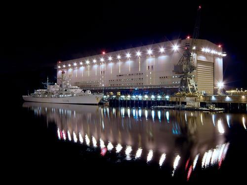 Shiplift at Faslane