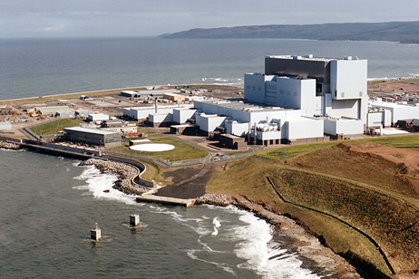 Torness nuclear plant