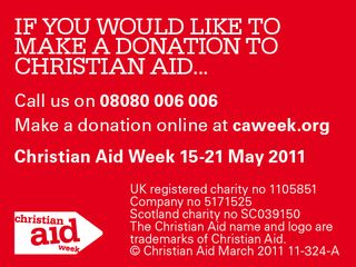 Christian Aid appeal