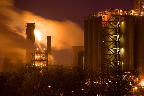 INEOS refinery at Grangemouth