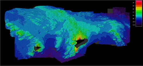 Rockall and Helens Reef map