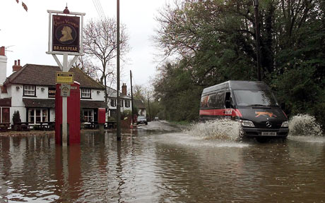 Flooding in Berkshire