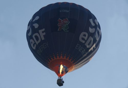 EDF Energy hot air balloon