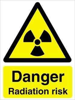 Radiation danger sign