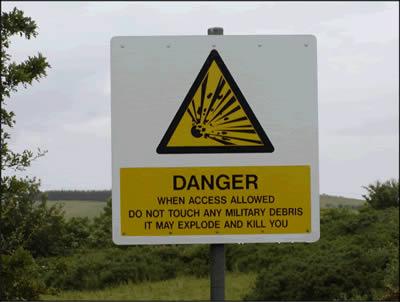 Dundrennan warning