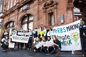 RBS protest