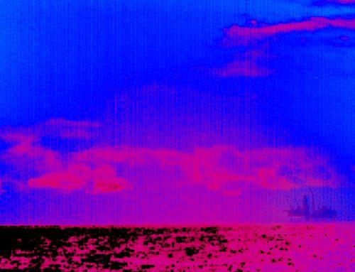 Methane cloud from Elgin ©Greenpeace