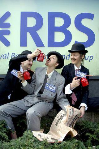 RBS oil protest