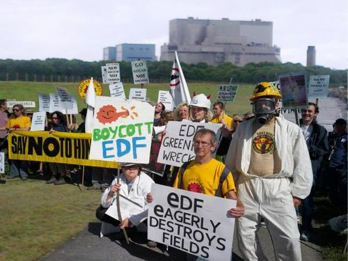 Hinkley protest