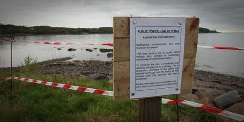 Sign at Dalgety Bay