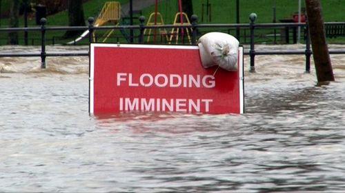 Flooding sign