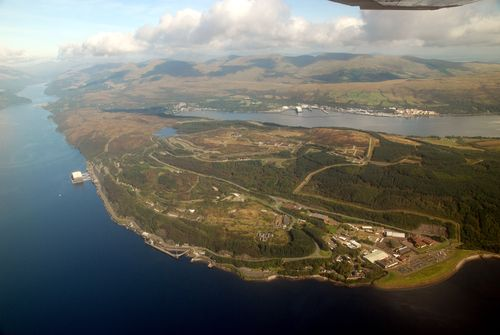Faslane and Coulport by Vic Sharp