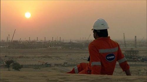 Cairn oil field