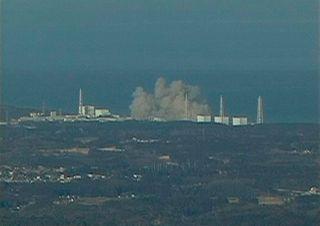 Fukushima explodes