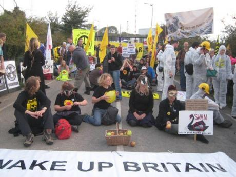 Hinkley Point protest