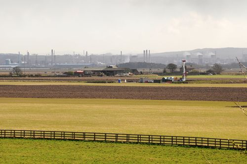 Coalbed methane rig near Grangemouth ©Dart Energy