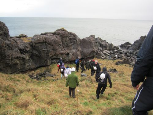 Perth High School geology field trip ©Rachel Hay
