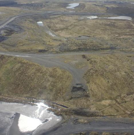 Chalmerston opencast coal mine
