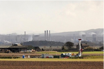 Dart Energy drilling near Falkirk