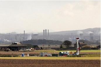 Dart Energy drilling near Falkirk