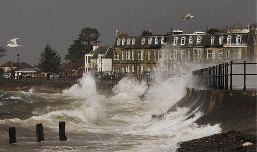Storm in Scotland