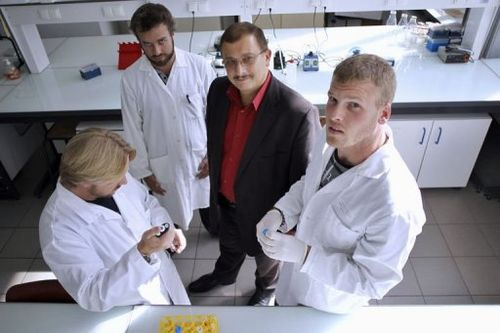 Professor Seralini and fellow researchers