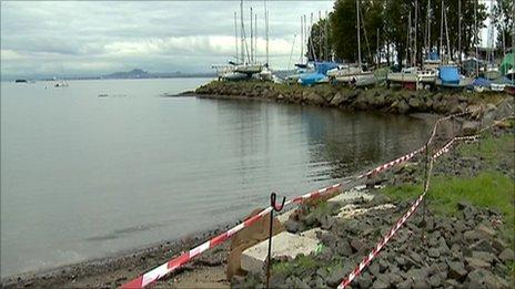 Dalgety Bay, and sailing club