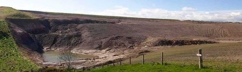 Shewington mine, next to Cauldhall
