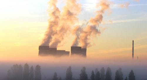 Nuclear power station in Ukraine by Dyakov Vladimir Leonidovich