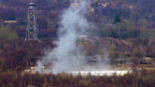 Explosion at Coulport (thanks to ardentinny.org)