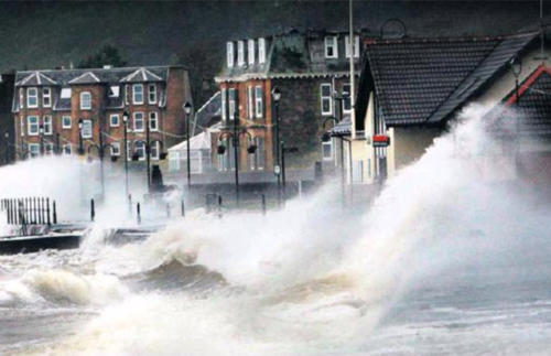 A storm in Scotland