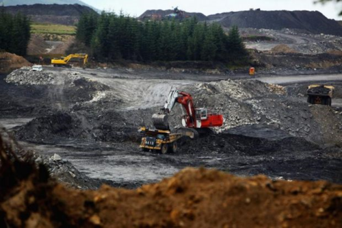 Dalfad opencast coal mine, East Ayrshire