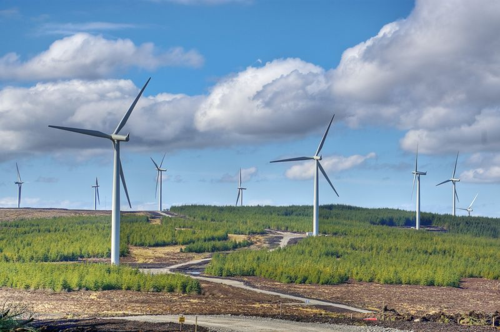 Whitelee windfarm, near Glasgow