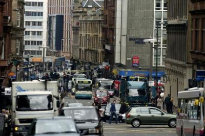 Traffic in Glasgow