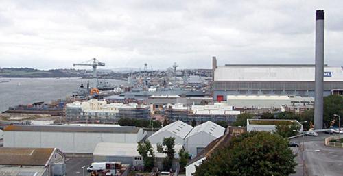 Devonport naval dockyard