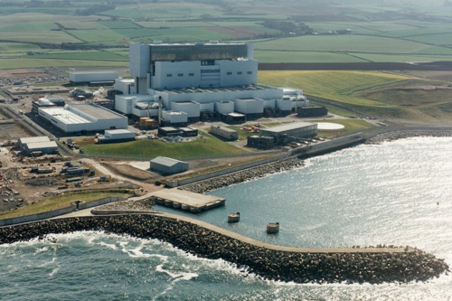 Torness nuclar power station, East Lothian
