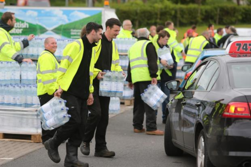 Drinking water in North Lanarkshire was contaminated
