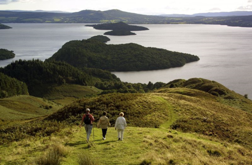 Towards Loch Lomond ©Loch Lomond and Trossachs National Park authority